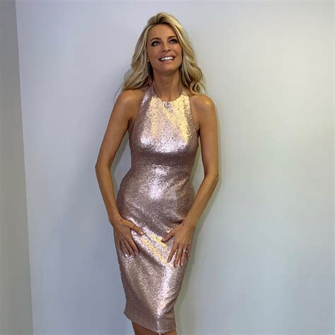 Tess Daly Wears Sassi Holford 2018