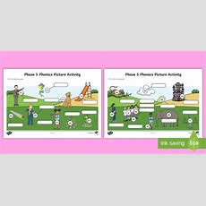 Phase 5 Phonics Picture Worksheet  Worksheet  Phase 5 Phonics Picture
