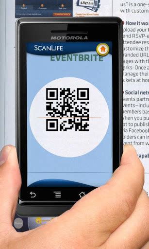 scanlife barcode qr reader apk   android