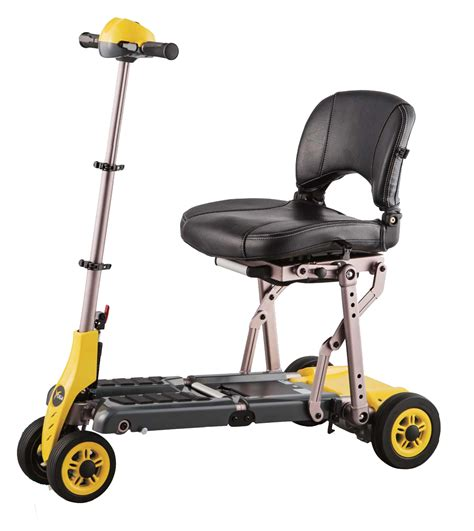 Patient Transport Chairs by Small Scooters Merits Yoga Folding Mobility Scooter