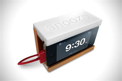snooze alarm dock for apple iphone hiconsumption