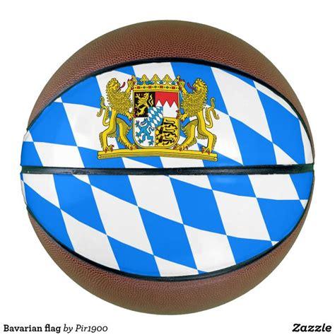 Bavarian flag basketball   Zazzle.com in 2020   Bavarian ...