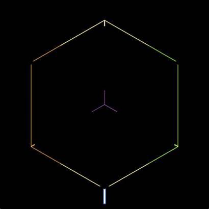 Gifs Infinity Hexagon Infinite Hypnotic Geometry Cube