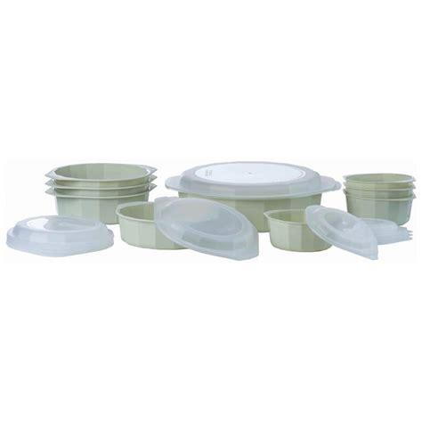 microwave cookware dishwasher safe lacuisine 18pc refrigerator cooking table fridge catalog