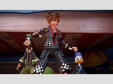 Addressing leaks Kingdom Hearts III screenshots, partial