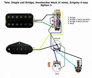 Two Wire Humbucker Wiring Diagram Single