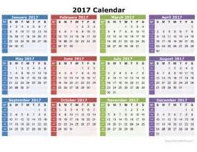 2017 calendar printable blank templates webelations