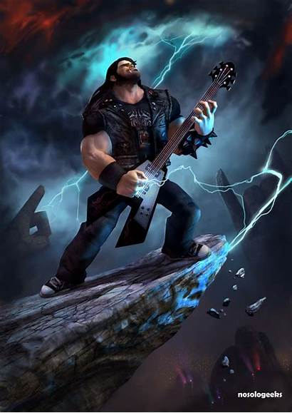 Heavy Metal Brutal Legend Riggs Eddie Ironico