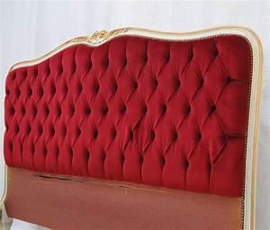 Tete De Lit Rouge : lit et tete de lit capitonn vente unique meubles ancien et vintage id es d co maison ~ Teatrodelosmanantiales.com Idées de Décoration