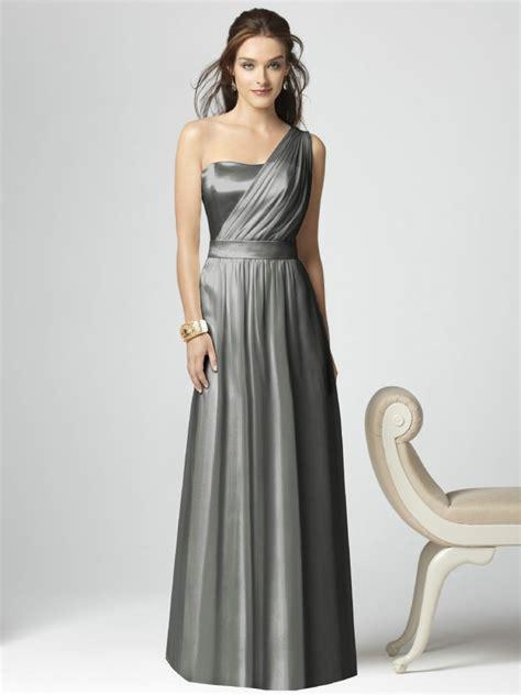 silver bridesmaid dresses dressed  girl