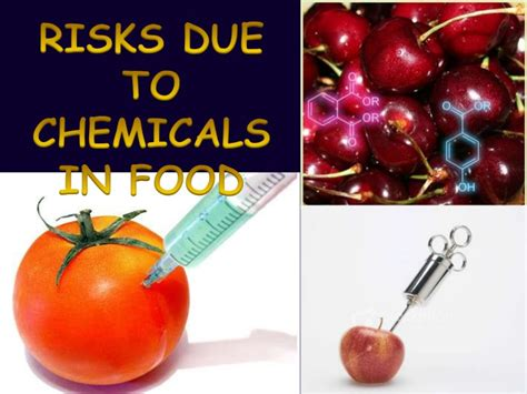 Risks Due To Chemicals In Food By Sharanya Nagaraj