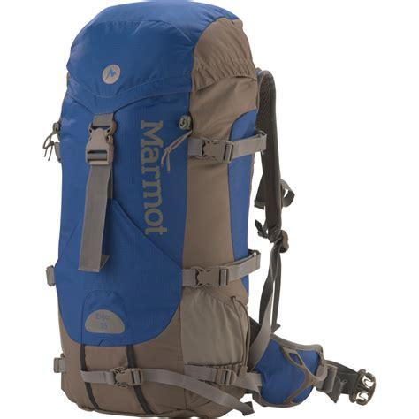 daypavk eiger marmot eiger 35 backpack 2150cu in backcountry