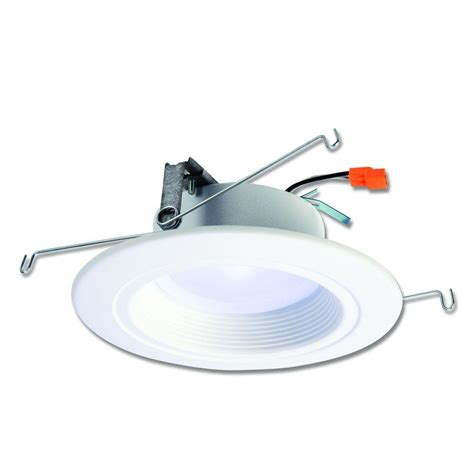 led lighting in kitchen halo rl 5 in and 6 in white integrated led recessed 6930