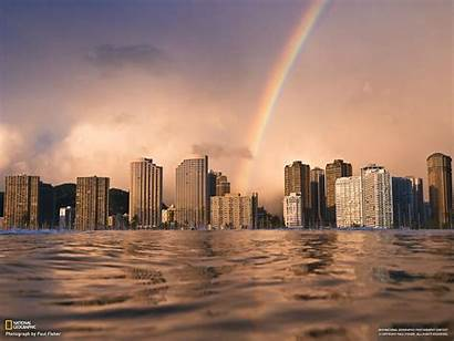 Geographic National Wallpapers Hawaii Buildings Urban Cityscapes