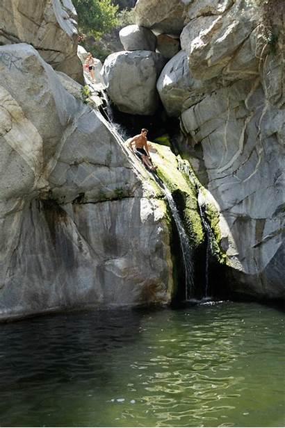 Hermit Falls Arcadia California Hiking Slides Southern