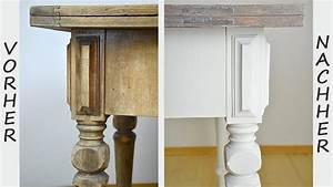 Alte Möbel Streichen Shabby Chic : diy tisch im shabby chic stil streichen wisch oder ~ Watch28wear.com Haus und Dekorationen