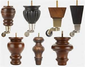 Decorative Furniture Legs with Casters