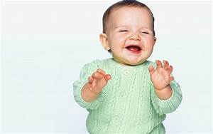 funny and laugh: photos of babies laughing