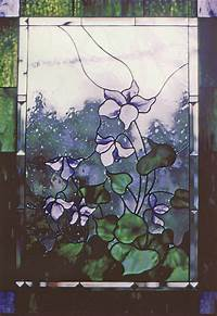 faux stained glass patterns Decorative Stained Glass Designs   Home Garden Delphi