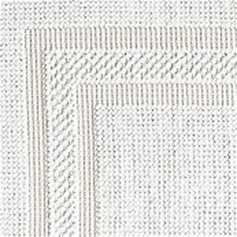 white woven rug cotton woven bath rug