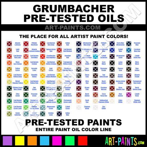 grumbacher pre tested paint colors grumbacher pre