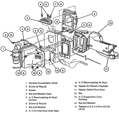 Schematics Diagrams Replacing Heater Core For Grand