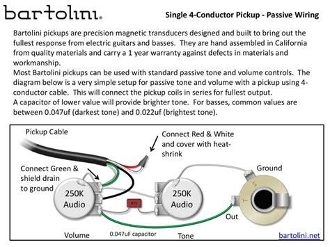 Pickup Wiring Conductor Bartolini Pickups Electronics