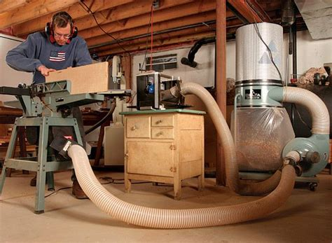 dust collection fine woodworking article