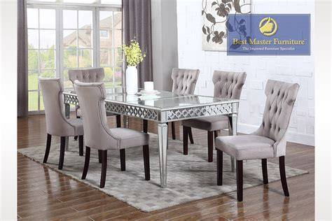mirrored dining room table home design ideas home
