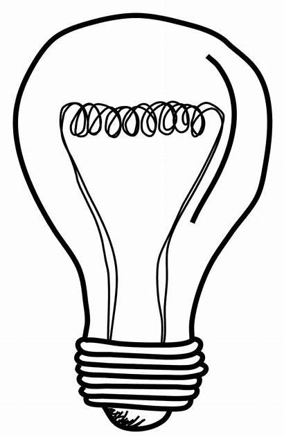 Clipart Bulb Lightbulb Drawing Clip Clipartix Acoloring