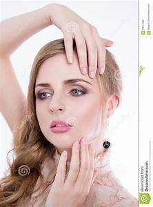 Beautiful Woman Model With Beauty Face And Professional ...