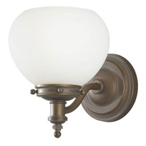 westinghouse 64383 1 light bronze wall sconce