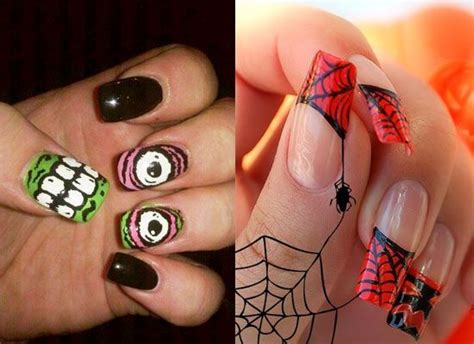 40 Scary 3d Halloween Nail Art Designs