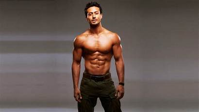 Tiger Shroff Abs Pack Wallpapers Bollywood Actor