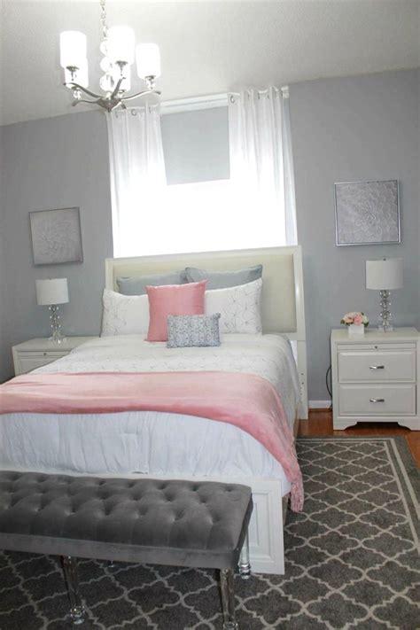 Grey Teenage Bedroom  Diy Bedroom Makeover