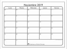 Calendarios noviembre 2019 LD Michel Zbinden es