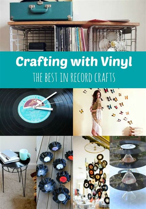 vinyl record crafts 63 best upcycle displays images on 3192