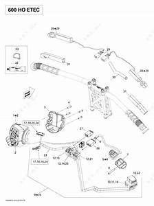 E Tec L91 Wiring Diagram : ski doo 2009 mx z x 600 h o etec steering wiring ~ A.2002-acura-tl-radio.info Haus und Dekorationen