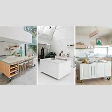 8 Examples Of Kitchens With Movable Islands That Make It