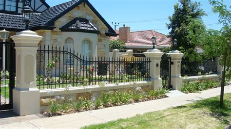 design of fences for houses beautiful home fence designs and gate ideas wilson rose garden