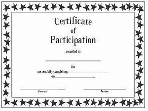 in award certificate templates for kids participation free With training participation certificate template