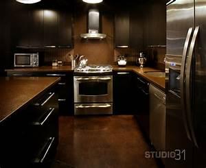 12 playful dark kitchen designs 2090
