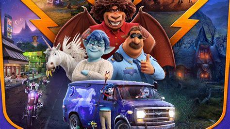 magical  trailer  poster  pixars onward released