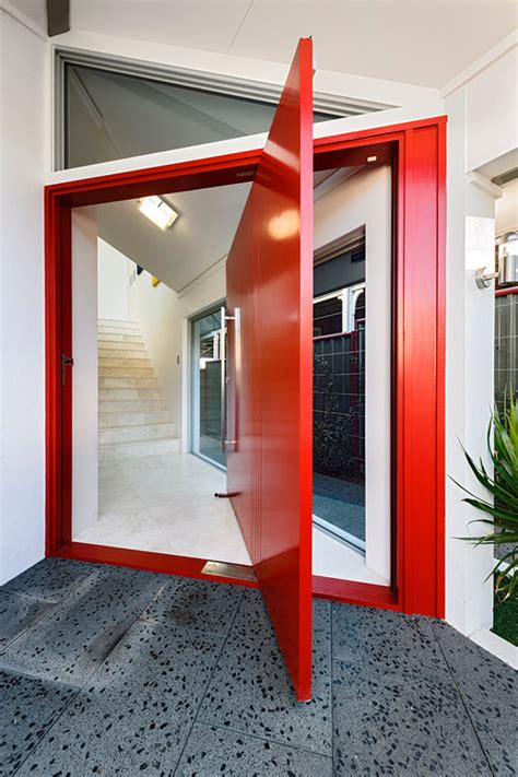 cool front door designs   boost
