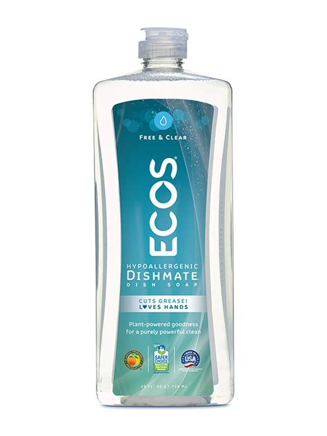 earth friendly products ecos ultra dishmate hand dish soap