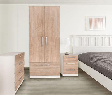 euston white oak bedroom furniture wardrobes bedside