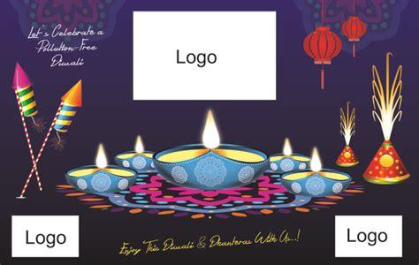 vector diwali poster  vector