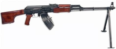 Ametralladora Ligera Kalashnikov Rpk.