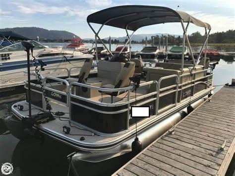 Pontoon Boats Yakima by Used Lowe Pontoon Boats For Sale Boats