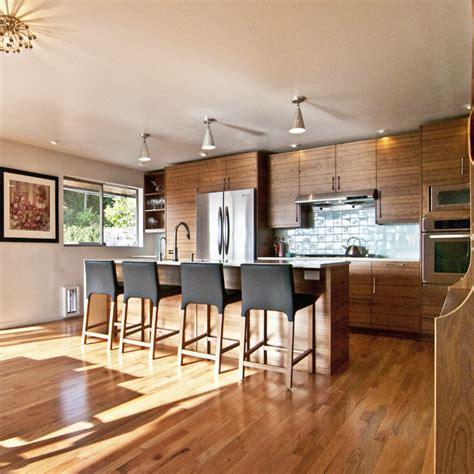 walnut kitchen cabinets modern walnut ikea kitchen contemporary kitchen seattle 6993